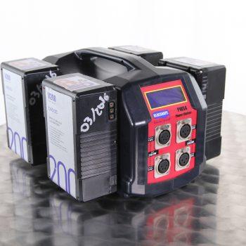 Convertisseur 4 batteries V-Lock